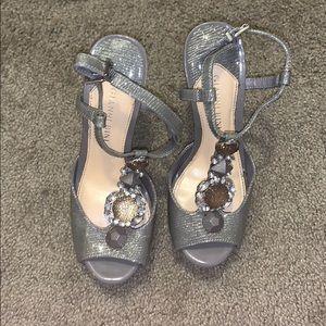 Gianni bini grey heels